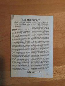 """NRZ 11.02.2020 zu """"Mission Mann"""" in Dinslaken"""